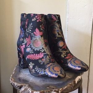 Alpha A+ Tapestry Booties